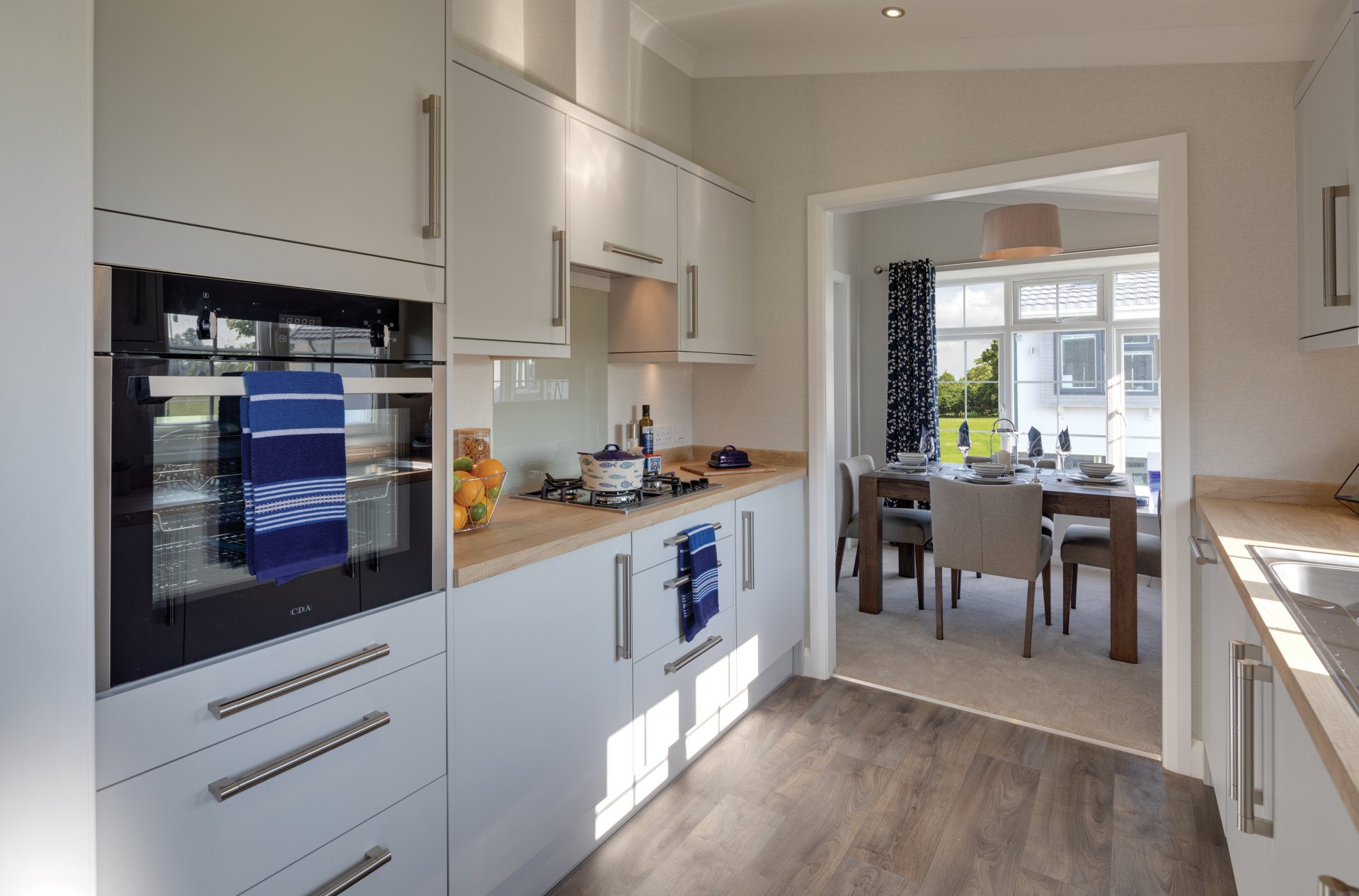 Charnwood kitchen interior.
